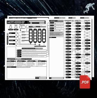PDF Mothership RPG - Karty...