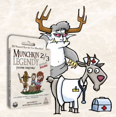 MUNCHKIN LEGENDY 2/3 -...