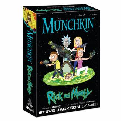 Munchkin Rick & Morty-...