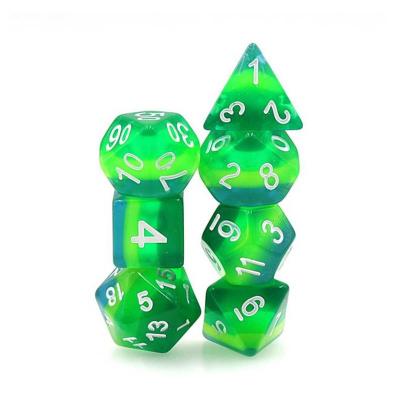 Zew Cthulhu Kości RPG Metalowe