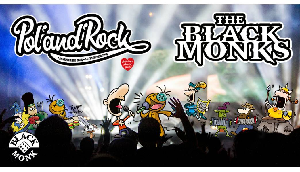 The Black Monks na Pol'and'Rock 2019!